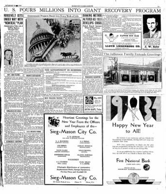 The Mason City Globe-Gazette from Mason City, Iowa on December 30, 1933 · Page 17