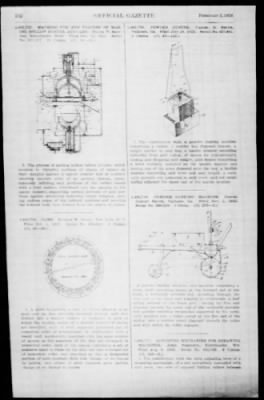 Official Gazette of the United States Patent Office from Washington, District of Columbia on February 5, 1924 · Page 151