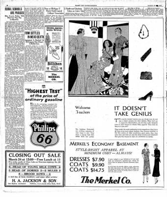 The Mason City Globe-Gazette from Mason City, Iowa on March 20, 1931 · Page 10