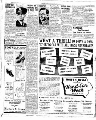 The Mason City Globe-Gazette from Mason City, Iowa on March 21, 1939 · Page 8
