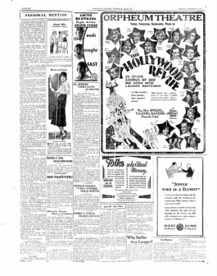 The Daily Courier from Connellsville, Pennsylvania on January 6, 1930 · Page 6