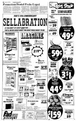 Sunday Gazette-Mail from Charleston, West Virginia on June 2, 1974 · Page 14