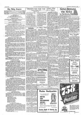 The Daily Courier from Connellsville, Pennsylvania on January 19, 1939 · Page 4