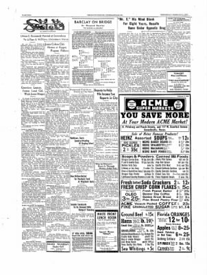 The Daily Courier from Connellsville, Pennsylvania on February 8, 1939 · Page 2