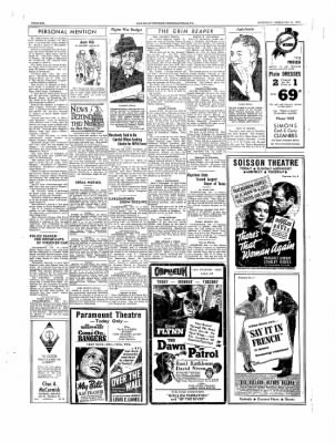 The Daily Courier from Connellsville, Pennsylvania on February 11, 1939 · Page 6