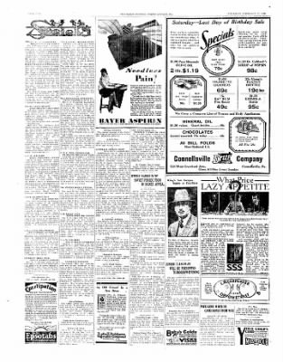 The Daily Courier from Connellsville, Pennsylvania on February 27, 1930 · Page 1