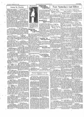 The Daily Courier from Connellsville, Pennsylvania on February 19, 1938 · Page 3