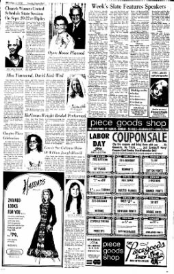 Sunday Gazette-Mail from Charleston, West Virginia on September 3, 1972 · Page 38