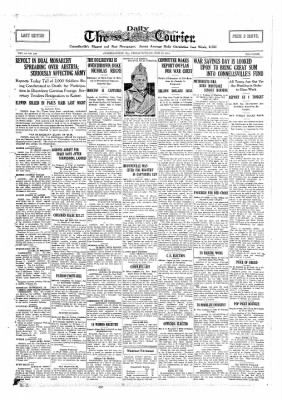 The Daily Courier from Connellsville, Pennsylvania on June 28, 1918 · Page 1