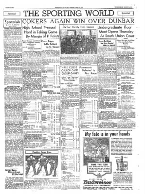 The Daily Courier from Connellsville, Pennsylvania on March 9, 1938 · Page 8