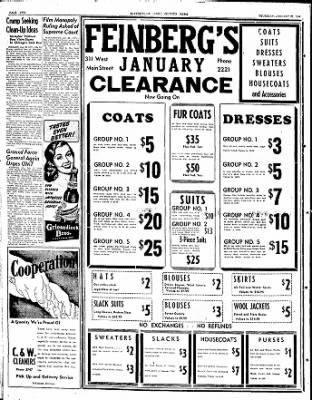 The Courier News from Blytheville, Arkansas on January 22, 1948 · Page 2