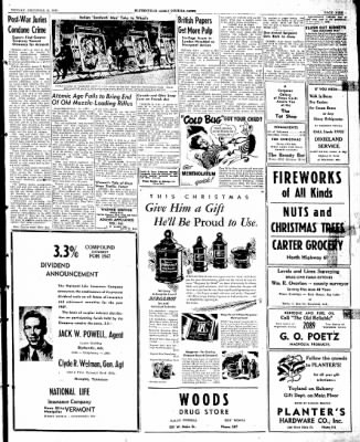 The Courier News from Blytheville, Arkansas on December 16, 1946 · Page 9