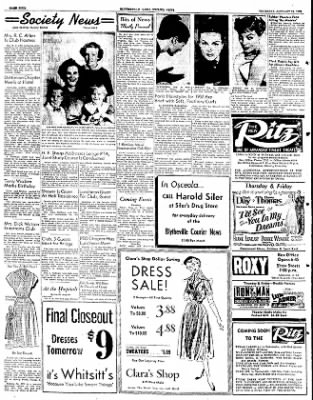The Courier News from Blytheville, Arkansas on January 24, 1952 · Page 4