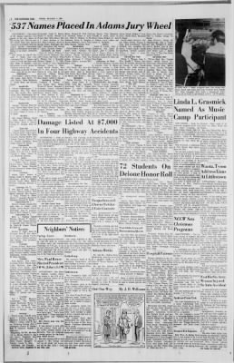 The Evening Sun from Hanover, Pennsylvania on December 7, 1970 · Page 2