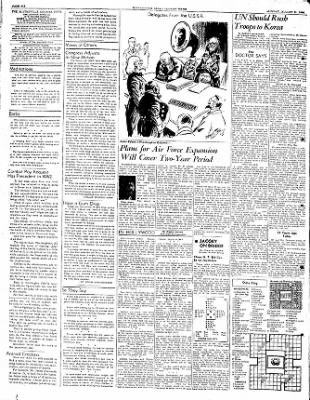 The Courier News from Blytheville, Arkansas on August 21, 1950 · Page 6