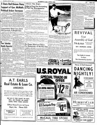 The Courier News from Blytheville, Arkansas on July 21, 1952 · Page 9