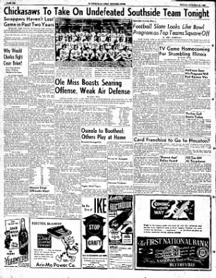 The Courier News from Blytheville, Arkansas on October 24, 1952 · Page 6