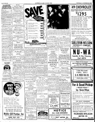 The Courier News from Blytheville, Arkansas on November 22, 1950 · Page 12