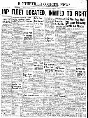 The Courier News from Blytheville, Arkansas on February 16, 1945 · Page 1