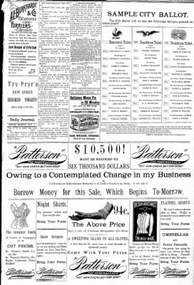 Logansport Pharos-Tribune from Logansport, Indiana on May 3, 1891 · Page 3