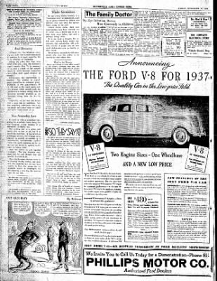 The Courier News from Blytheville, Arkansas on November 13, 1936 · Page 4