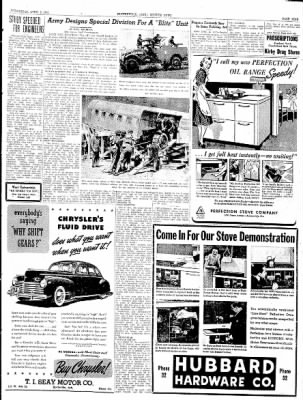 The Courier News from Blytheville, Arkansas on April 9, 1941 · Page 9