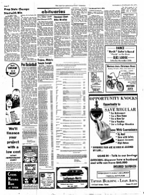 The Tipton Daily Tribune from Tipton, Indiana on November 28, 1970 · Page 6