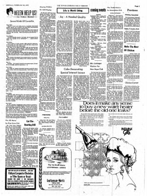 The Tipton Daily Tribune from Tipton, Indiana on February 15, 1971 · Page 3