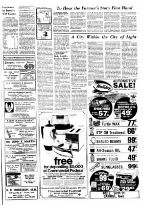 Carrol Daily Times Herald from Carroll, Iowa on April 18, 1974 · Page 7