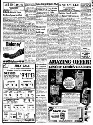Galesburg Register-Mail from Galesburg, Illinois on July 10, 1963 · Page 21