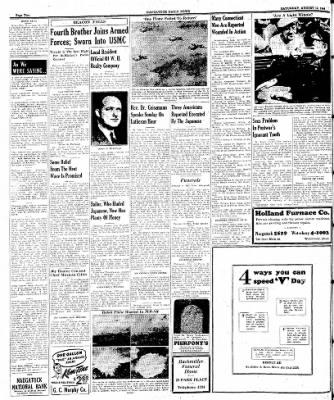 Naugatuck Daily News from Naugatuck, Connecticut on August 12, 1944 · Page 2