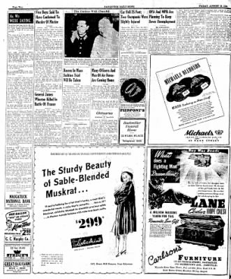 Naugatuck Daily News from Naugatuck, Connecticut on August 18, 1944 · Page 2