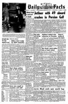 Redlands Daily Facts from Redlands, California on April 18, 1964 · Page 1