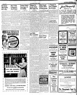 Naugatuck Daily News from Naugatuck, Connecticut on September 2, 1944 · Page 8