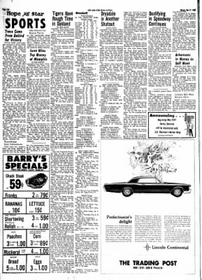 Hope Star from Hope, Arkansas on May 27, 1968 · Page 3
