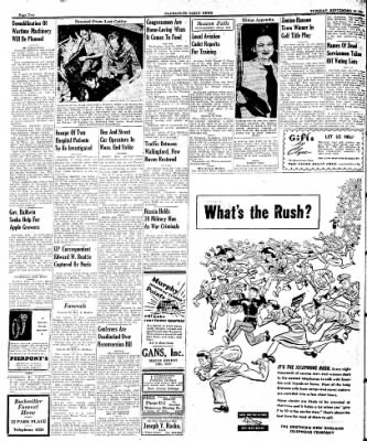 Naugatuck Daily News from Naugatuck, Connecticut on September 19, 1944 · Page 2