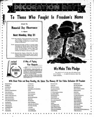 The Algona Upper Des Moines from Algona, Iowa on May 25, 1954 · Page 18