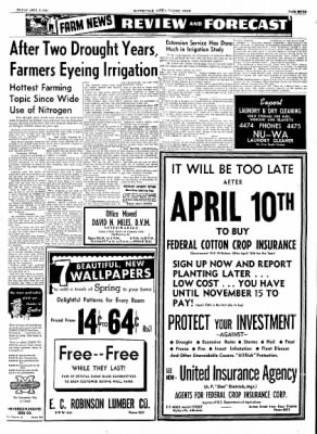 The Courier News from Blytheville, Arkansas on April 2, 1954 · Page 7