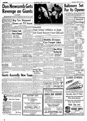 The Courier News from Blytheville, Arkansas on April 15, 1954 · Page 8