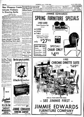 The Courier News from Blytheville, Arkansas on April 19, 1954 · Page 2