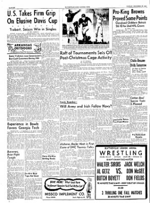 The Courier News from Blytheville, Arkansas on December 27, 1954 · Page 6