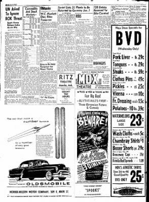 The Courier News from Blytheville, Arkansas on August 25, 1953 · Page 14