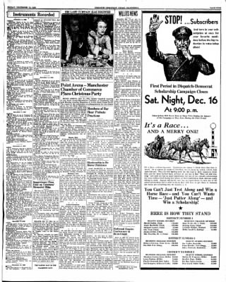 Ukiah Dispatch Democrat from Ukiah, California on December 15, 1939 · Page 5