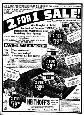 Carrol Daily Times Herald from Carroll, Iowa on July 22, 1957 · Page 8