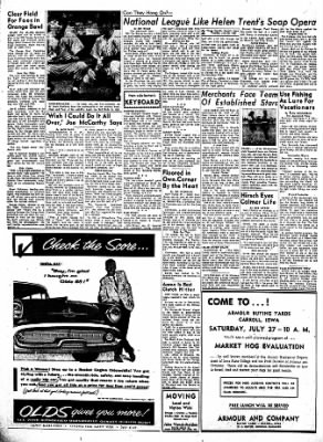 Carrol Daily Times Herald from Carroll, Iowa on July 23, 1957 · Page 2
