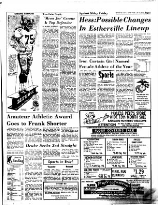 Estherville Daily News from Estherville, Iowa on January 18, 1973 · Page 6