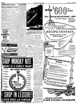 Alton Evening Telegraph from Alton, Illinois on July 9, 1960 · Page 6