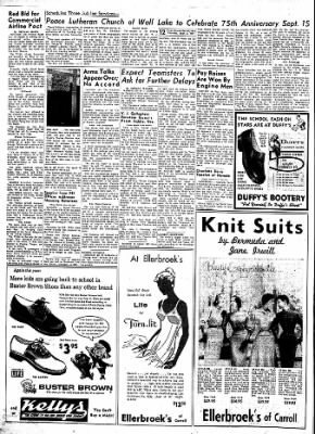 Carrol Daily Times Herald from Carroll, Iowa on September 5, 1957 · Page 12