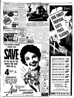 Alton Evening Telegraph from Alton, Illinois on July 13, 1960 · Page 5