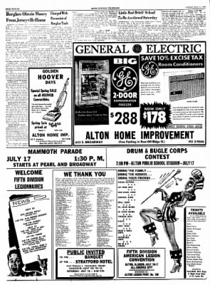 Alton Evening Telegraph from Alton, Illinois on July 15, 1960 · Page 12